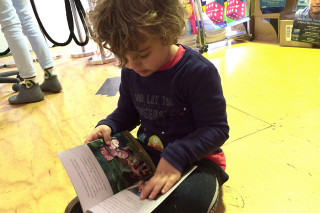 Children benefit not just from reading, but writing stories. Photo: SCU/ Jeanti St Clair