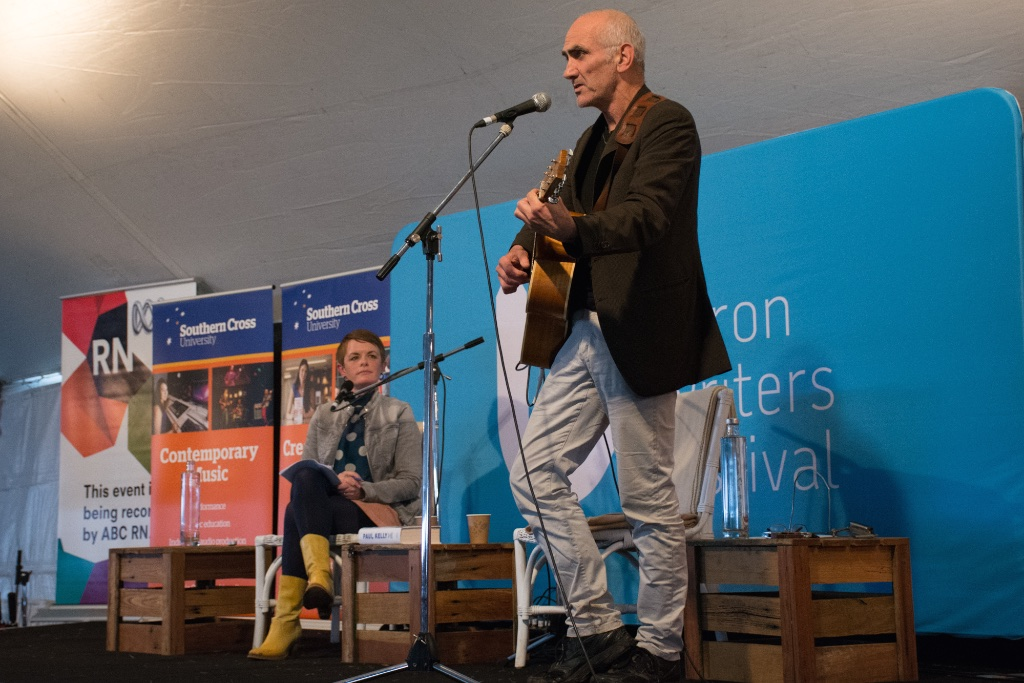 Paul Kelly gives us Shakespeare -pic Kirra Pendergast