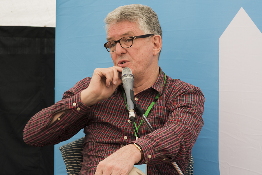 David Marr discusses One Nation and the politics of race. Photo: Natalie Foord