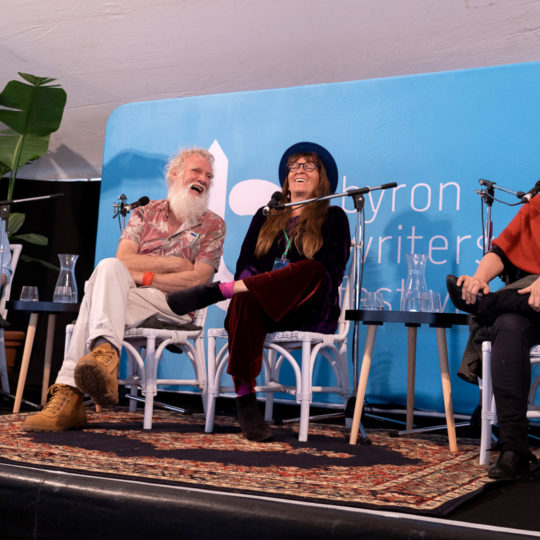 https://byronwritersfestival.com/wp-content/uploads/2019/08/ByronWF2019_The-Stories-Embedded-in-Landscape-panel-laughing-540x540.jpg